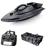Barco de Cebo Remoto: buscador de Peces de Barco de Cebo de Cebo de Pesca inalámbrico para Piscinas y Lagos, Botes de Cebo para la Pesca de Carpas con Motores Dobles