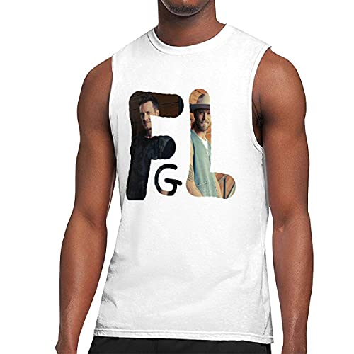 Florida Georgia Line Men's Graphic Printed Classic Muscle Sleeveless Gym Workout T Shirt Camisetas y Tops(Large)