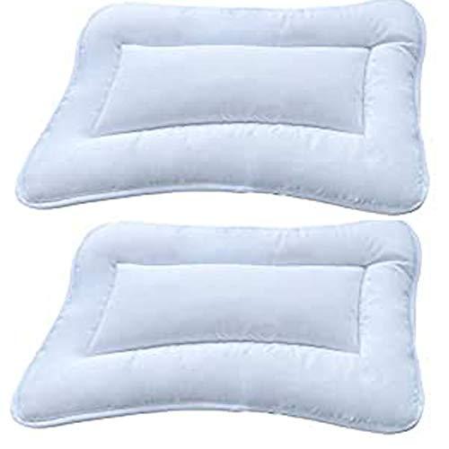 Mack Kinderkissen 40 x 60 cm Kinder Kissen für Bett oder Kinderwagen 2er Set