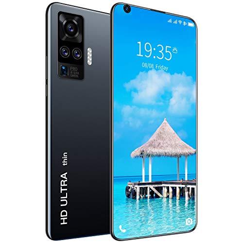 SNOWINSPRING X60 Pro Smartphone 7.1 Pouces HD Grand éCran Ultra-Mince 1G + 8G Android 6.0 3G (1532X720P) 2200Mah (Prise EuropéEnne) Noir