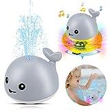 aovowog Schwimmende Badespielzeug Wasserspielzeug für Kinder,Automatische Induktions Sprinkler...