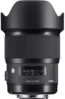 Sigma 20mm f/1.4 DG HSM Art Lens for Canon EF - International Version (No Warranty)