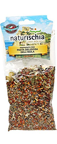 Naturischia - 3 confezioni di preparato per Pasta deliziosa dell'isola d'Ischia 100 gr. ciascuna - Prodotto tipico Ischia