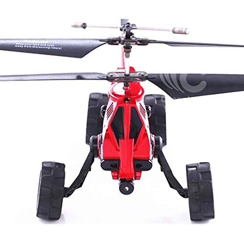 PCARM Lademann, UAV, Fliege Fahrzeug Gelände 2.4G RC Flugzeug-Hubschrauber for Ejection Flugzeug-Modell-Fahrzeug einfach, gute Bedienung Fernbedienung Auto for Jugendliche Junge Mädchen Geschenk Rot l