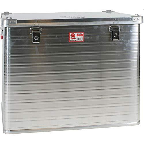 JUMBO Alluminium Transport-Box Alu 240 Liter ALU240 L 750 x B 585 x H 622 mm Kiste Truhe Lager-Box Alubox