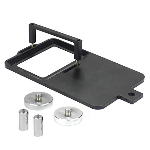 WTALL Placa de Montaje de Interruptor de cardán móvil GoPro aplicable al estabilizador de Mano móvil GoPro 9/8