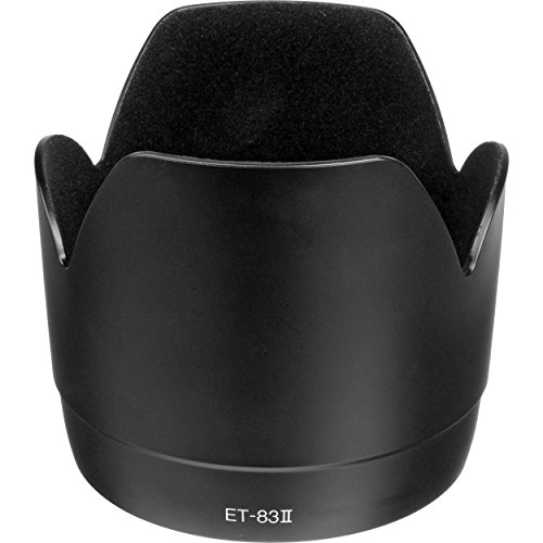 CELLONIC® Paraluce ET-83 II Compatibile con Obiettivo Canon EF 70-200mm f/2.8L USM Cappuccio Macchina Fotografica, Paraluce di Lente