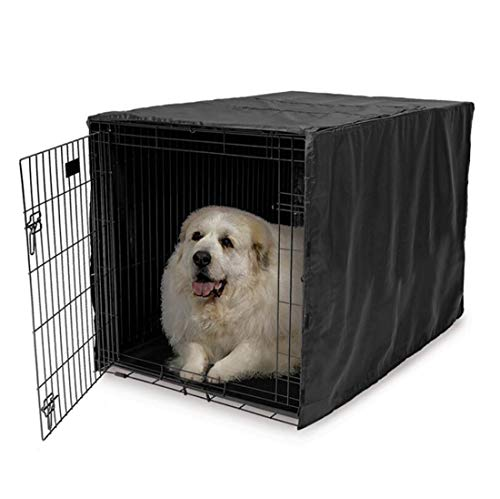 ELR Dog Pet Crate Covers for 36 42 48inch Waterproof Dogs Cage Cover,...
