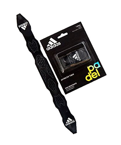 All for Padel Antishock Protection Tape Protector Anti Shock, Adultos Unisex, Black, Talla Única