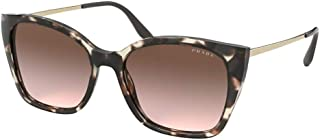 Prada PRADA CINÉMA EVOLUTION PR 12XS BROWN HAVANA/BROWN SHADED 54/17/145 women Sunglasses