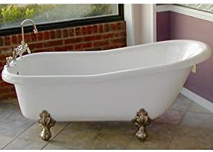 """product image for Imperial 66"""" x 30"""" Bathtub Color: Chrome"""