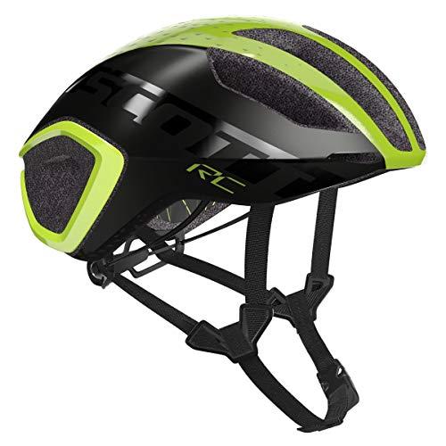 SCOTT Helm Cadence Plus YEL RC/Dk gr M Unisex Erwachsene