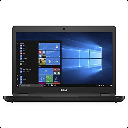 Dell Latitude 5480 , 14 Inch HD Anti-Glare Non-Touch Display, Intel Core 7th Generation i5-7300U, 8 GB DDR4, 256 GB SSD, Windows 10 Pro