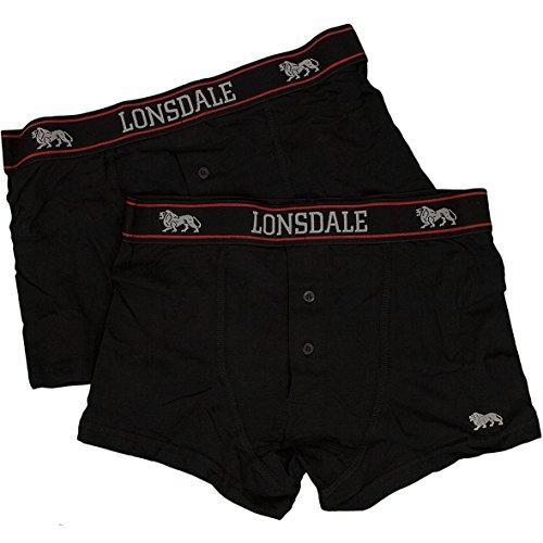 Lonsdale Underwear Boxershorts 2er Pack (XL, Oakworth)