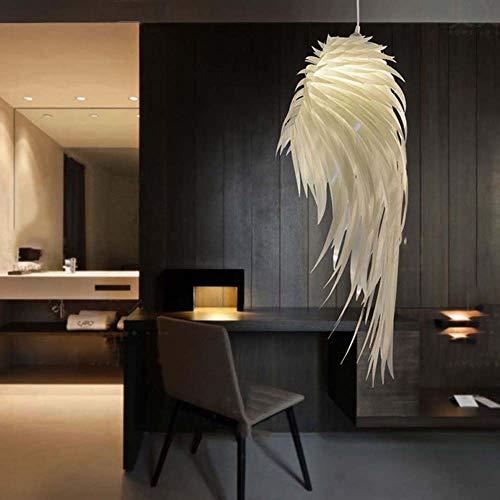 Mode Scandinavische Modern Creatieve Veer Kroonluchter Woonkamer Restaurant Slaapkamer Hotel Decoratie Engel Vleugels Kroonluchter 60cm, 90cm LED
