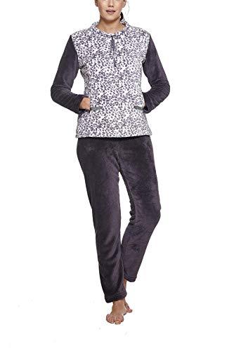 Pijama Mujer Invierno coralina