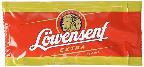 LOEWENSENF Senf Extra, 120er Pack (120 x 10 ml)