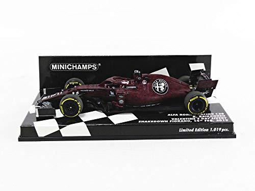 MINICHAMPS - Miniature Collection Car, 417199007, Red/Black
