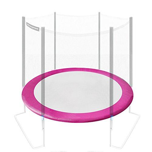 Ultrasport Rivestimento del bordo per trampolino da giardino, Rosa, 305 cm