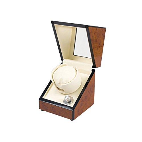 Caja de Reloj Caja de Reloj - Caja de Almacenamiento de Reloj de Fibra de Carbono de Shaker Table Turntable Jewelry Caja de Almacenamiento de joyería (Color : A)