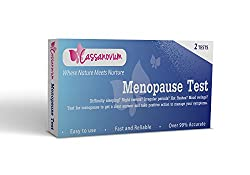 Image: Menopause Test | FSH levels that are high can indicate that a woman's body is trying to stimulate ovulation without success. Failure to ovulate is one of the initial symptoms of menopause and infertility