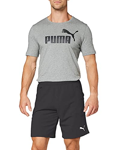PUMA Herren Liga Casuals Shorts Hose, Black White, S