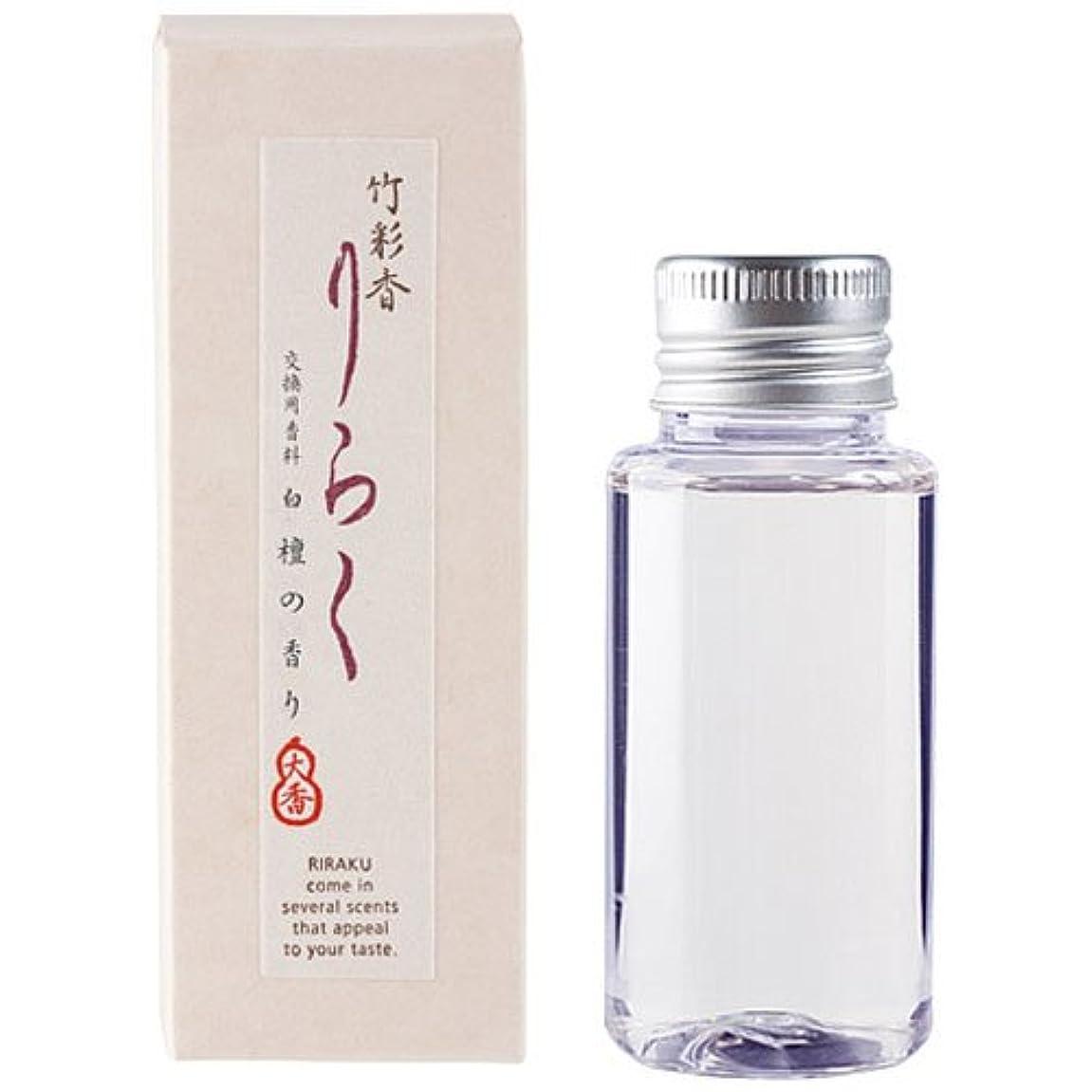 平凡カブラダ竹彩香りらく 交換用香料白檀 50ml