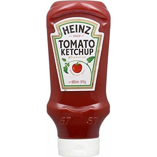 Heinz Tomato Ketchup - Dall'Alto Verso Il Basso (910g)