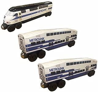 Best metrolink wooden train Reviews