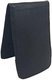 Sunfish Leather Golf Scorecard and Yardage Book Holder Black