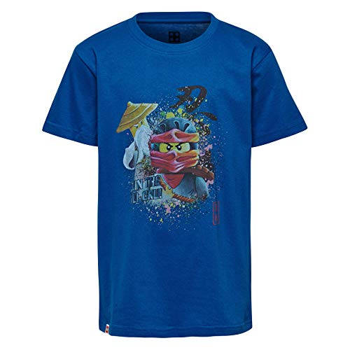 Lego Wear Lego Boy Ninjago Cm-50231-T-shirt T-Shirt, Blu (Blue 563), 104 Bambino