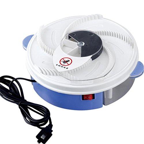 Elektrisches Fliegenfallen-Gerät mit USB-Kabel, Mücken-Fliegen-Wanzen-Falle mit Dem Einfangen von Nahrung Passend für Haupthotel-Restaurant-Büro