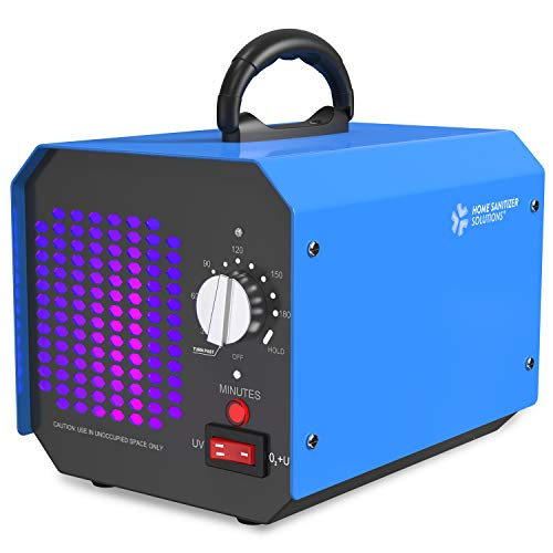 Commercial Ozone Generator 10,000mg/h, O3 High Capacity Air Purifier, Sterilizer and Deodorizer, Industrial Q3 Ionizer Machine