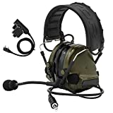 TAC-SKY COMTA III Electronic Tactical Headset Hearing Defender Noise Reduction Sound Pickup