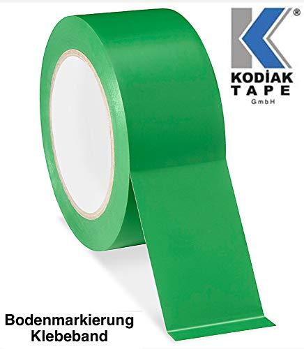 1 Rolle Bodenmarkierungsband Klebeband PVC Warnklebeband 50mm x 30m -GRÜN (0,3333 EUR/m)