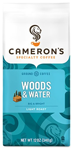 Cameron's Coffee Roasted Ground Coffee Bag, Woods & Water, 12 Ounce