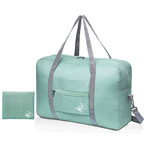 FUNFEL Faltbare Reisetasche, Reisetasche, Handgepäck, Sport, wasserabweisend, Nylon