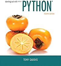 Starting Out with Python (4th Edition)
