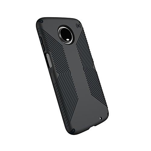 Speck Products Presidio Grip Motorola Moto Z3, Moto Z3 Play Case, Graphite Grey/Charcoal Grey (113671-5731)