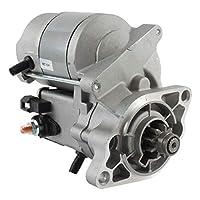 DB Electrical SND0356 Starter For Kubota V1405 Engine 1992-On, Kubota V1505-B Engine 1992-On, 12Volt, CW Rotation, OSGR Starter Type /16285-63010, 16285-63011, 16285-63012 / KT16285-6301-0