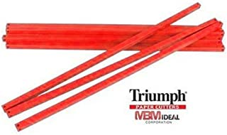 MBM AC0697 Replacement Cutter Sticks, For use with Triumph 4300 Manual Tabletop Cutter, 22 13/32