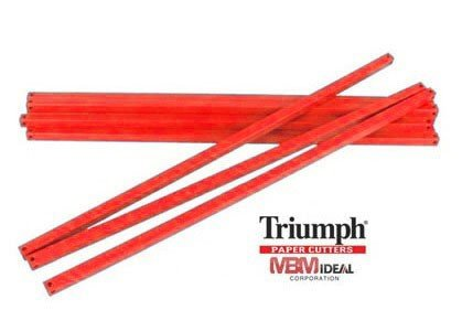 triumph paper cutters MBM AC0697 Replacement Cutter Sticks, For use with Triumph 4300 Manual Tabletop Cutter, 22 13/32