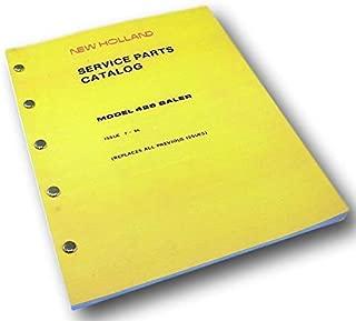 New Holland Service Parts Catalog Manual Model 426 Baler Small Square Hay Grass