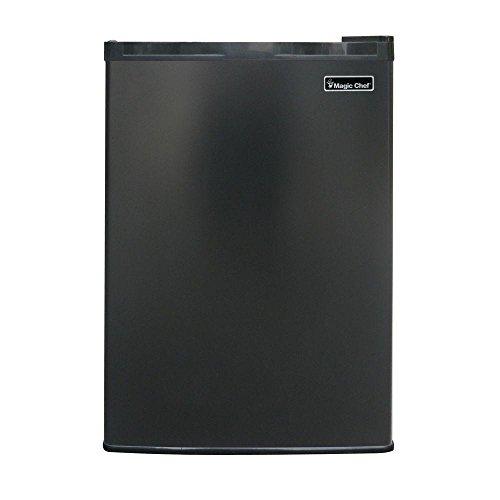 Magic Chef 17.5 in. W 2.6 cu. ft. Mini Refrigerator in Black