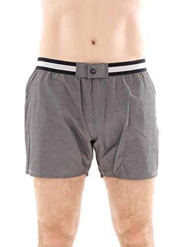 Brunotti Boardshort Badehose Swimwear grau Ceopardo Gummibund Taschen Gr. L 161214604