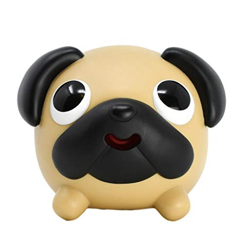 Jabber Ball Sankyo Dog Pug: for Stress and Anxiety Relief, Fun, and Laughs