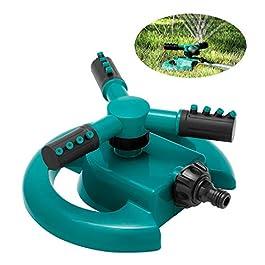 ENJSD arroseur Automatique de pelouse de Jardin, arroseur Automatique de pelouse de Jardin, système d'arrosage à Trois…