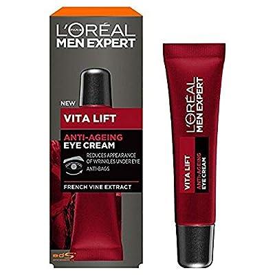 L'Oreal Paris Men's Expert Vita Lift Anti-Ageing Eye Cream, 15 ml