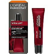 L'Oréal Paris Men's Expert Vita Lift Anti-Ageing Eye Cream, 15ml