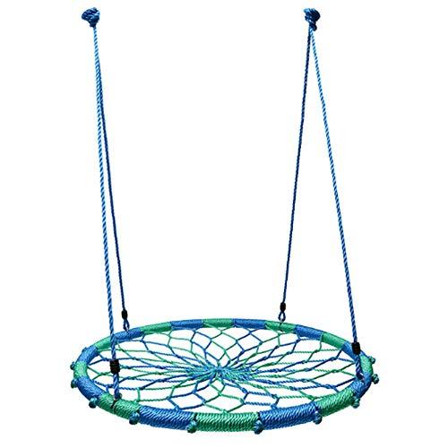 AGN Kinderschommel buiten kinderschommel Driepersoons schommel Tuinschommel Thuis Vogelnest schommel outdoor sport mesh hangmat